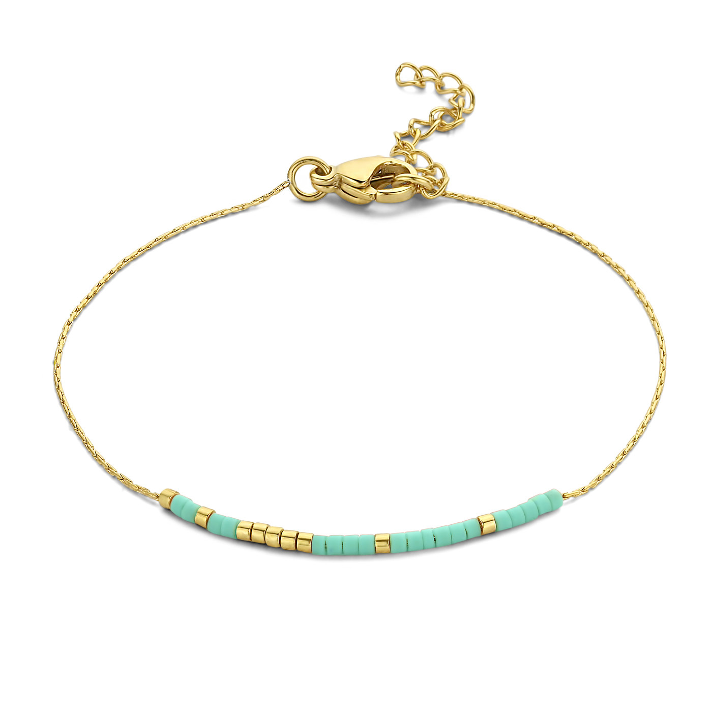 May Sparkle Happiness Flora gold colored bracelet