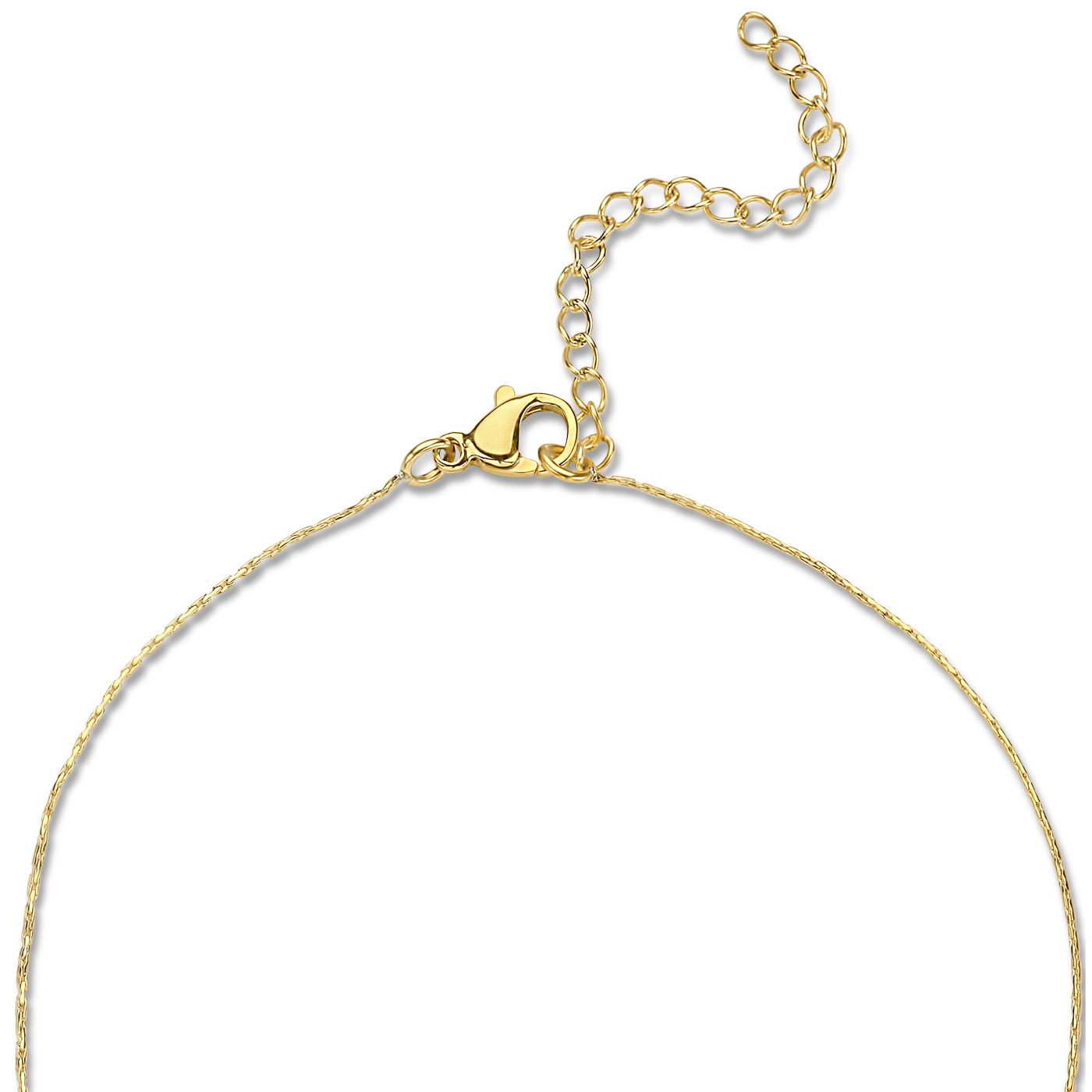May Sparkle Happiness Rosemary gold colored necklace