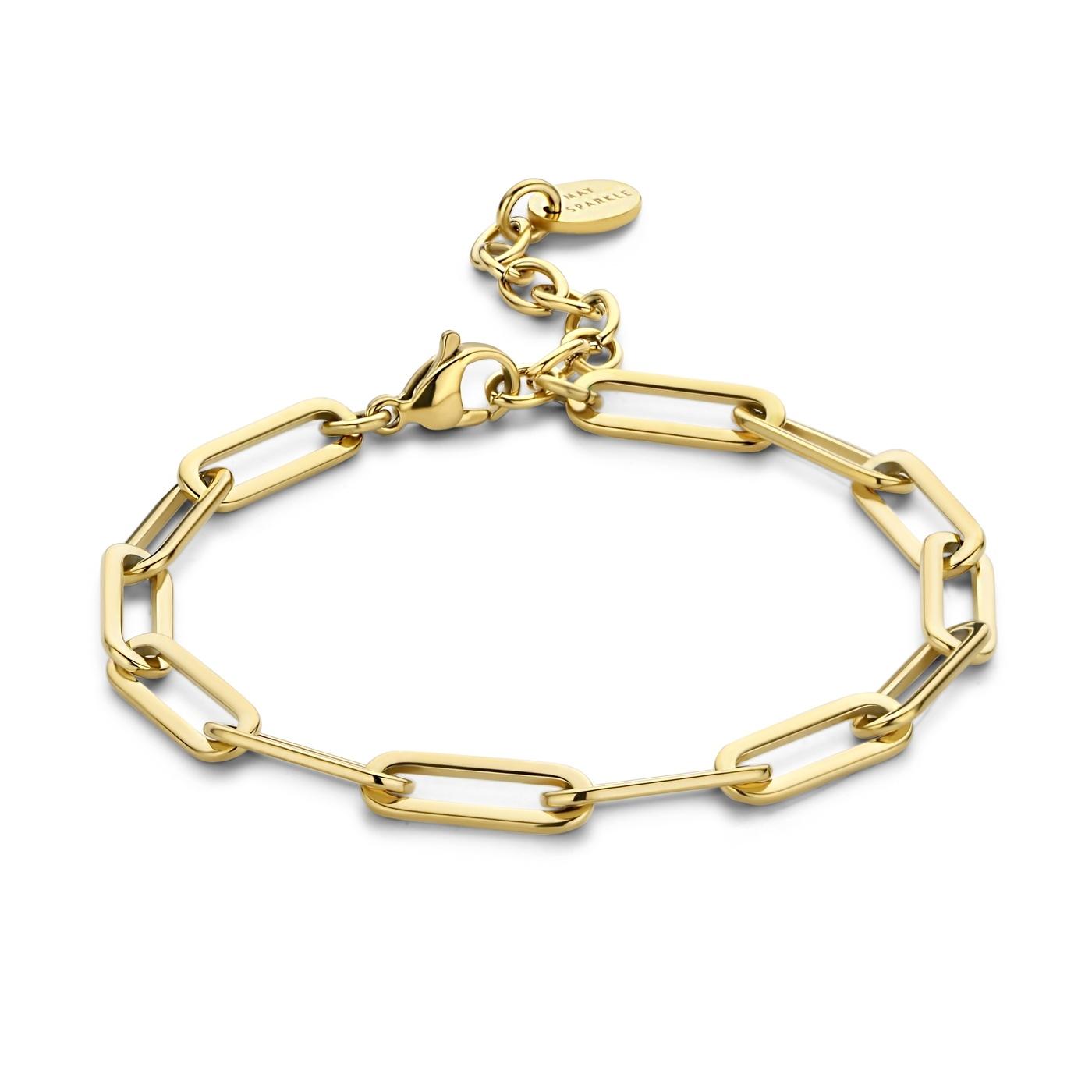 May Sparkle Happiness Rose goudkleurige armband