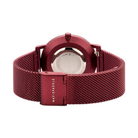 May Sparkle Midnight Sparkle red ladies watch