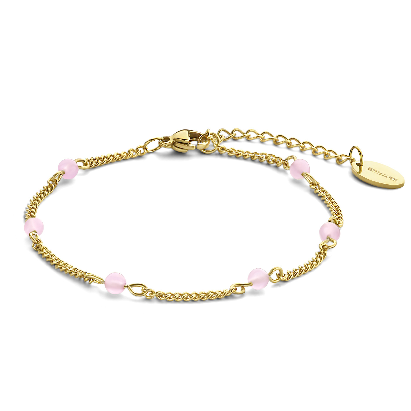 May Sparkle Happiness Jessie goudkleurige armband