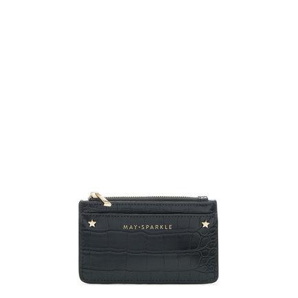May Sparkle Festive black card holder