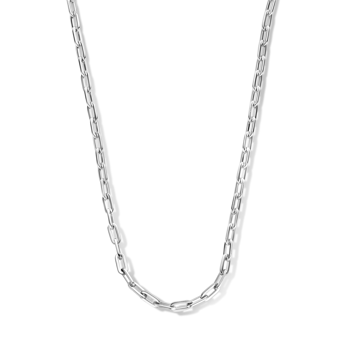 May Sparkle Forever Young Lily silver colored necklace