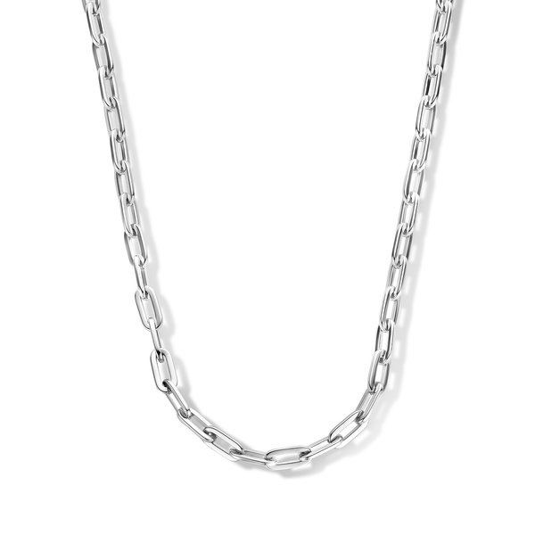 May Sparkle Happiness Senna silver colored necklace