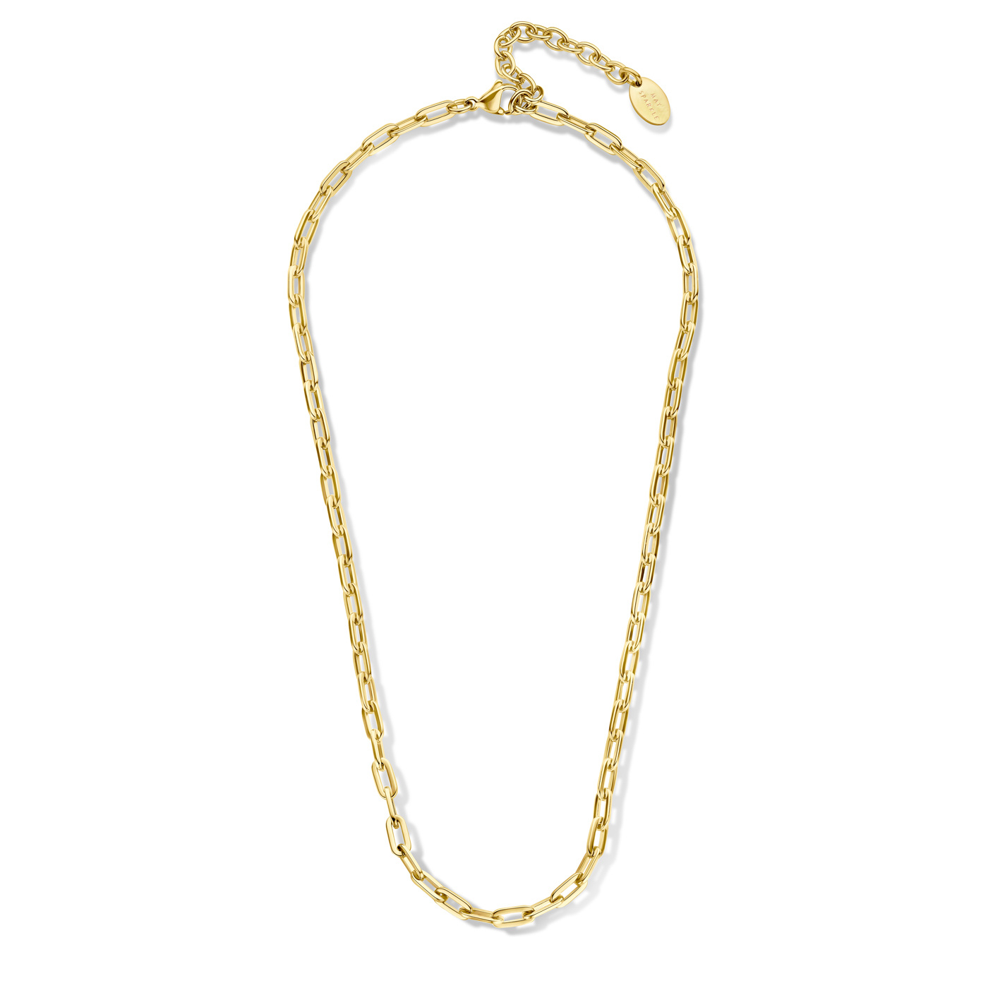 May Sparkle Happiness Senna gold colored necklace