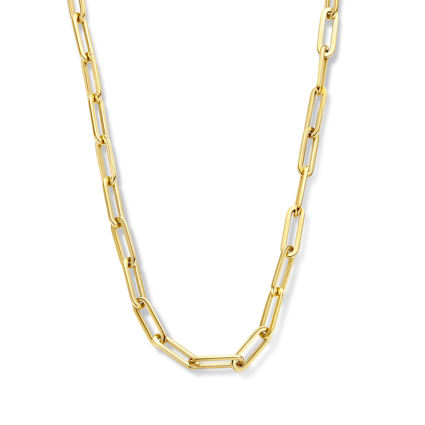 May Sparkle Forever Young Lily gold colored necklace