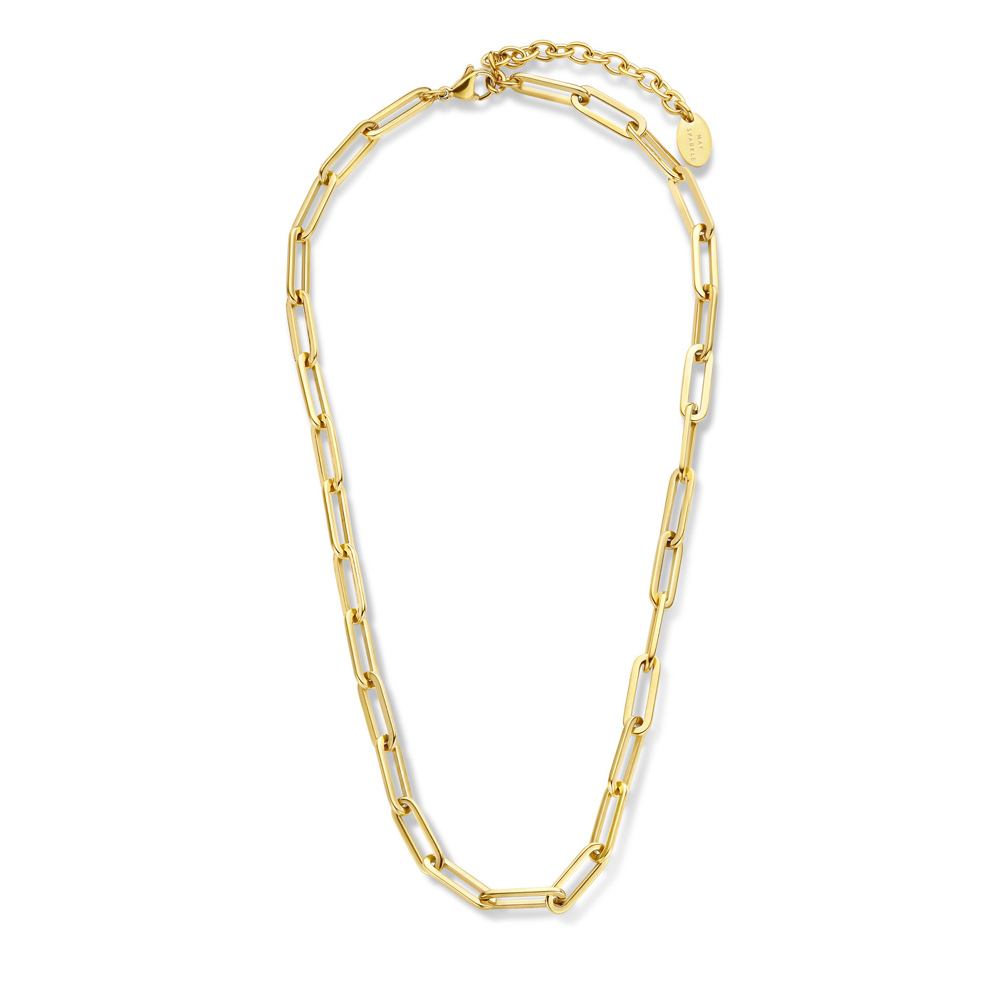 May Sparkle Forever Young Lily goudkleurige ketting