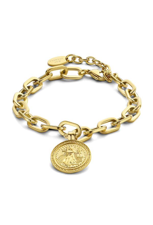 May Sparkle Happiness Iris gold colored bracelet