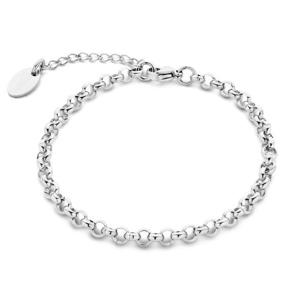 May Sparkle Summer Breeze Lisa zilverkleurige armband