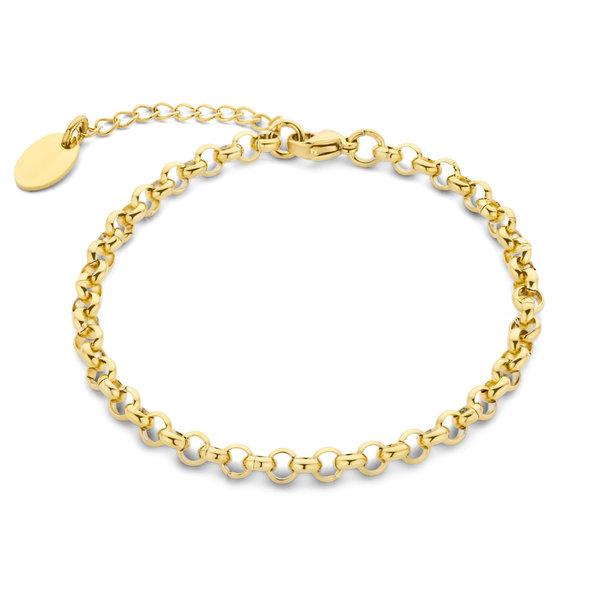 May Sparkle Summer Breeze Lisa goudkleurige armband