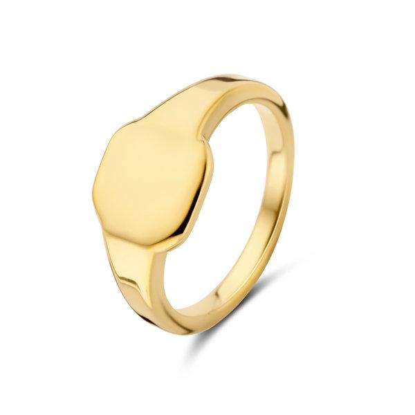 May Sparkle Summer Breeze Eva goudkleurige ring