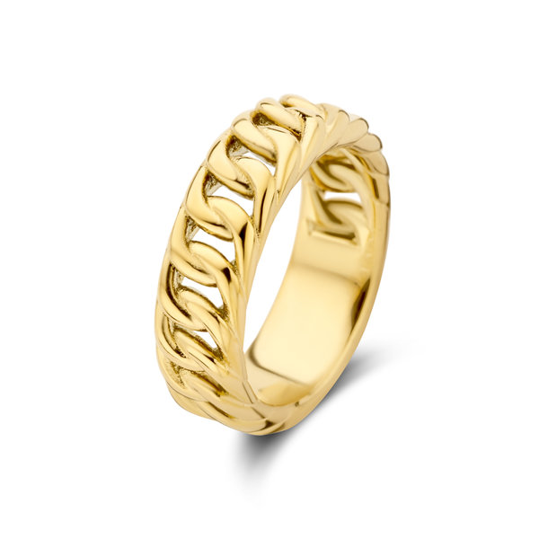 May Sparkle Summer Breeze Sophie gold colored ring