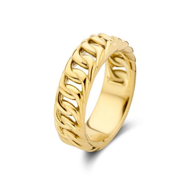May Sparkle Summer Breeze Sophie goudkleurige ring