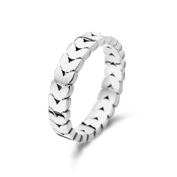 May Sparkle Summer Breeze Nadine silver colored ring