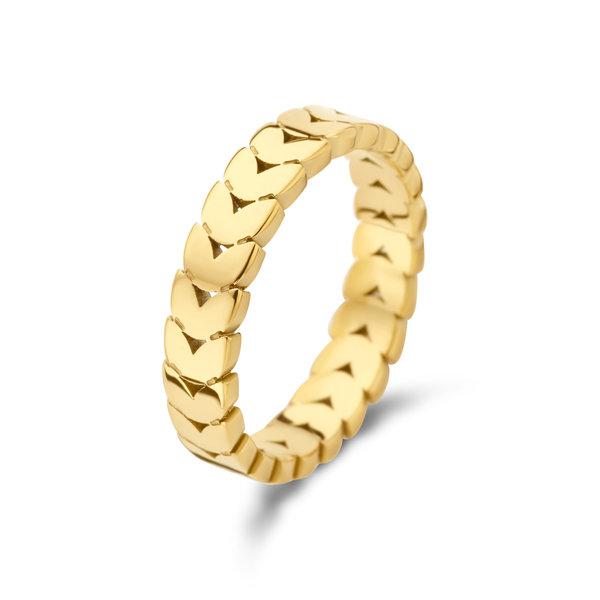 May Sparkle Summer Breeze Nadine gold colored ring