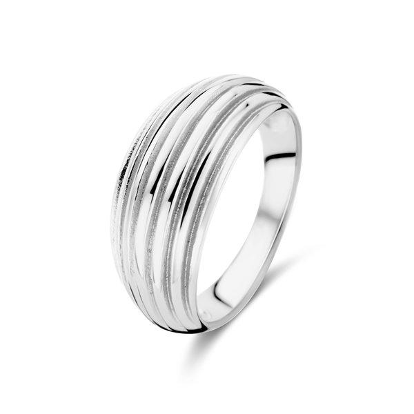 May Sparkle Summer Breeze Emmy zilverkleurige ring