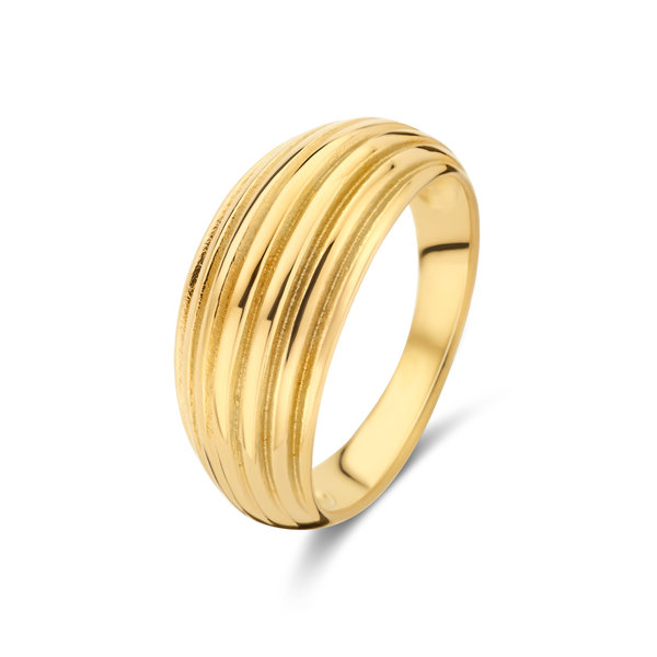 May Sparkle Summer Breeze Emmy goudkleurige ring