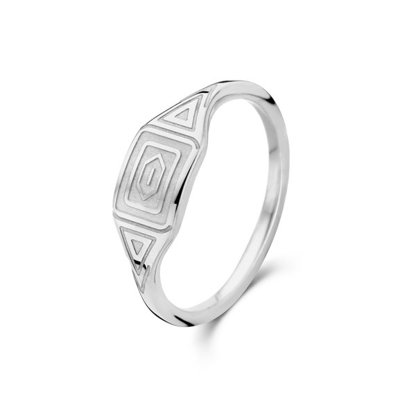 May Sparkle Summer Breeze Liv silver colored ring