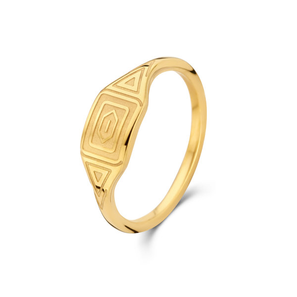 May Sparkle Summer Breeze Liv gold colored ring