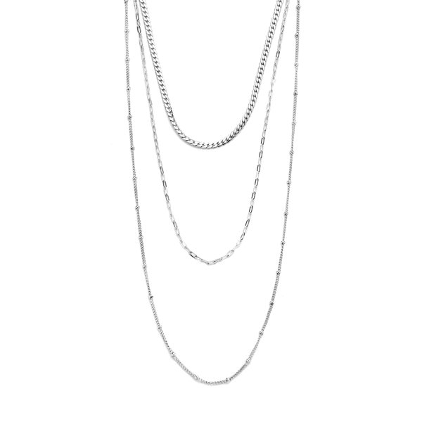 May Sparkle Summer Breeze Emma silver colored necklace