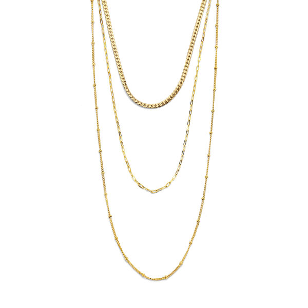 May Sparkle Summer Breeze Emma gold colored necklace