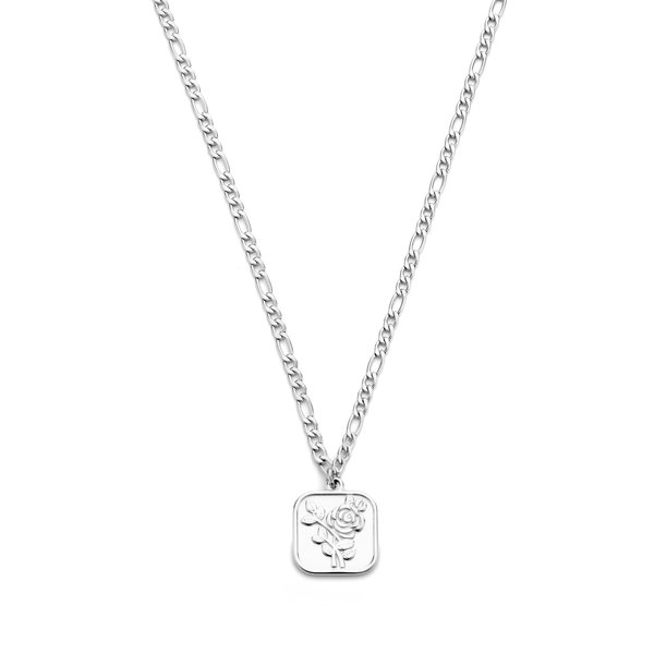 May Sparkle Summer Breeze Manou silver colored necklace