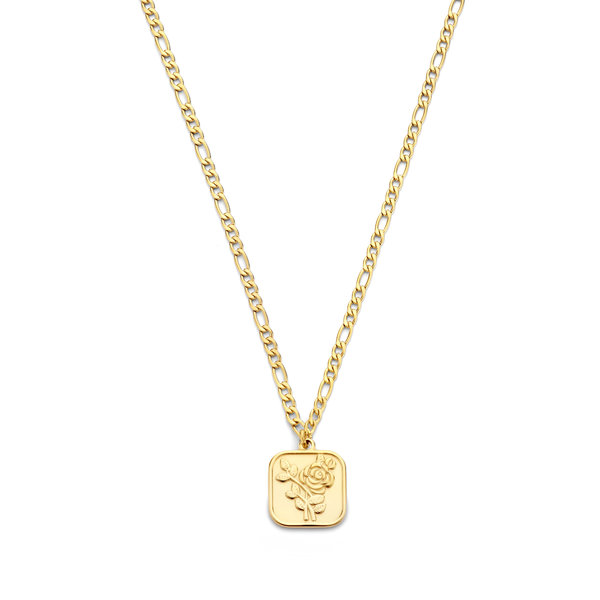 May Sparkle Summer Breeze Manou gold colored necklace