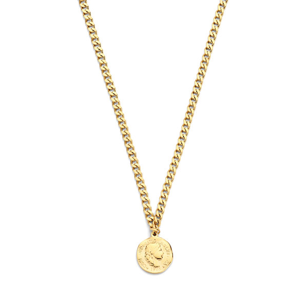 May Sparkle Summer Breeze Marijn gold colored necklace