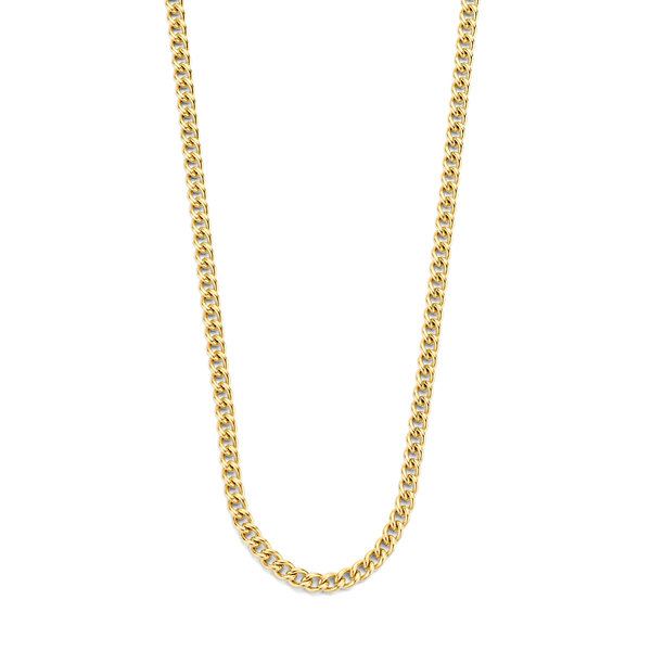May Sparkle Summer Breeze Tess gold colored necklace
