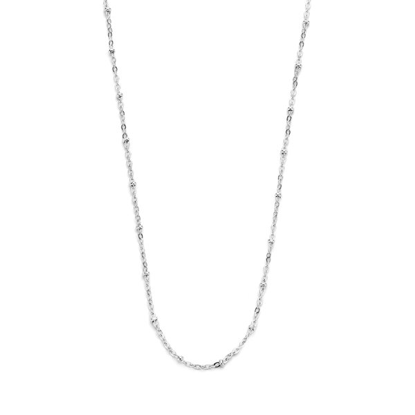 May Sparkle Summer Breeze Anouk silver colored necklace