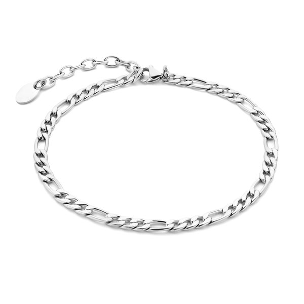 May Sparkle Summer Breeze Anna silver colored anklet