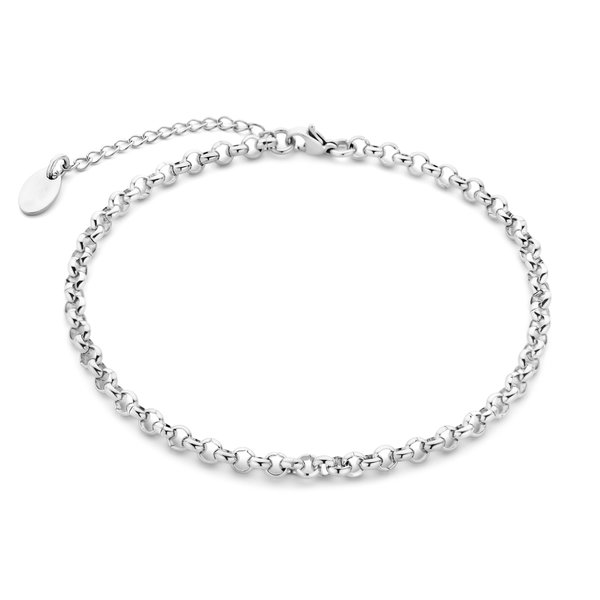 May Sparkle Summer Breeze Lisa silver colored anklet