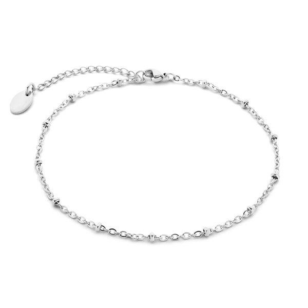May Sparkle Summer Breeze Anouk silver colored anklet