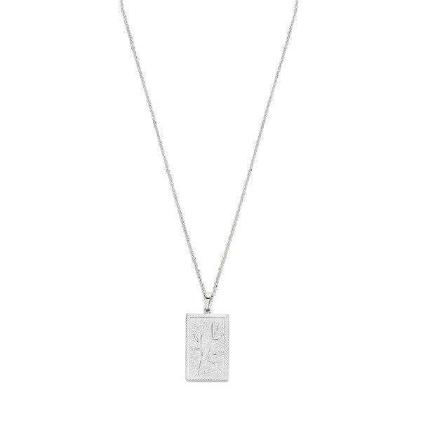May Sparkle Beach Girl Daisy silver colored necklace