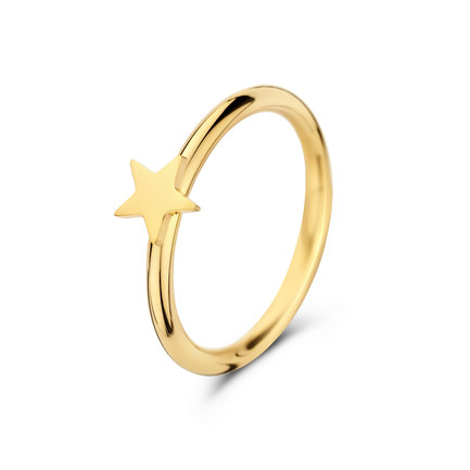 May Sparkle Forever Young Star goudkleurige ring
