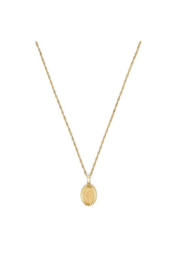 Bloom Girl Bloom Violet gold colored necklace