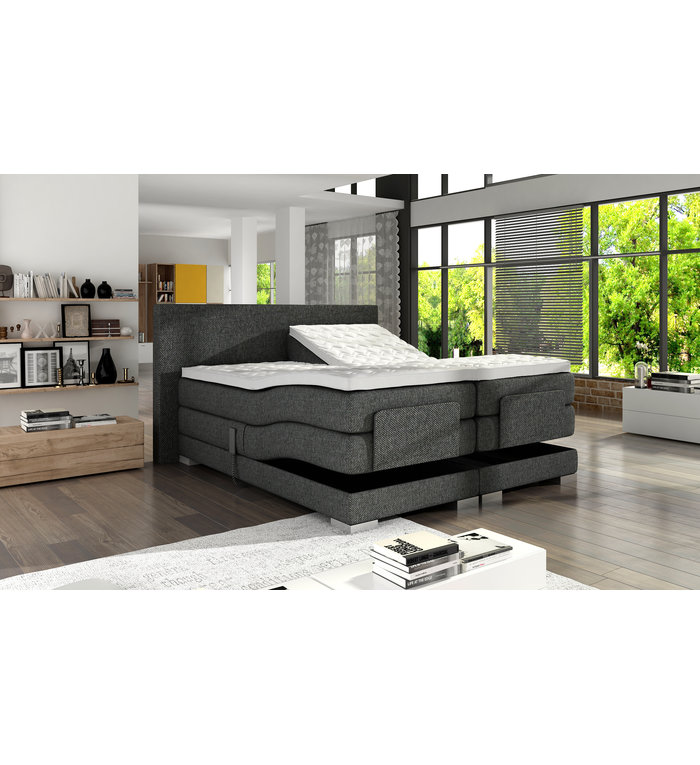Boxspring Deal Norsholm Gold elektrische boxspring
