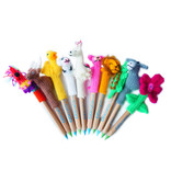 Pen puppet, incl. lyra-pencil, assorted