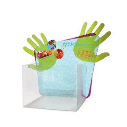 Display voor vingerpoppen