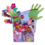 Display for finger puppets