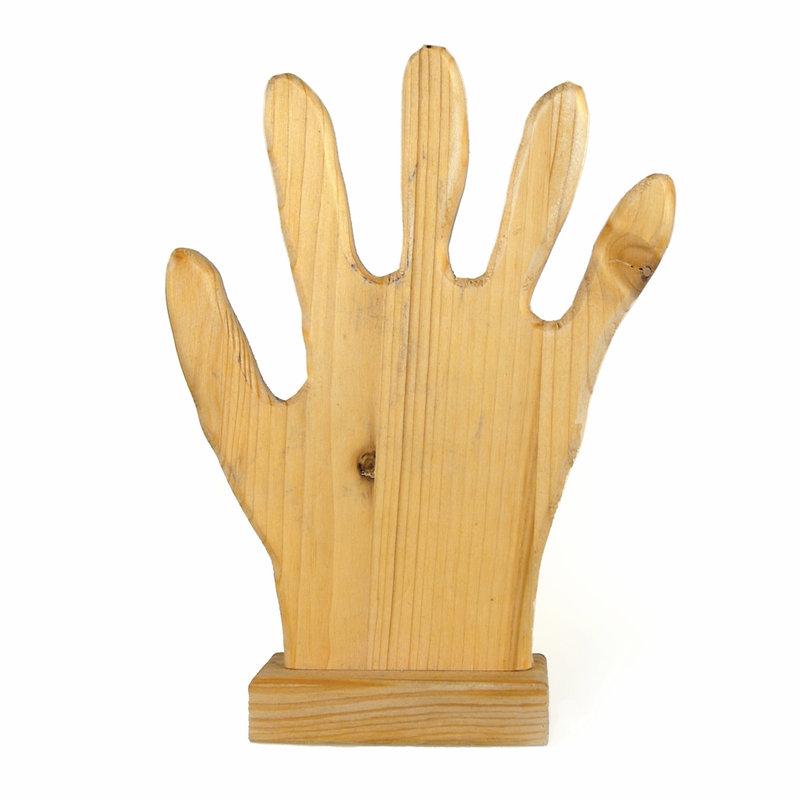 Houten hand