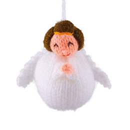 Hand knitted angel