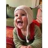Kindermuts van 100% alpaca-lamswol