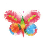 Decorative butterfly of plastic, small