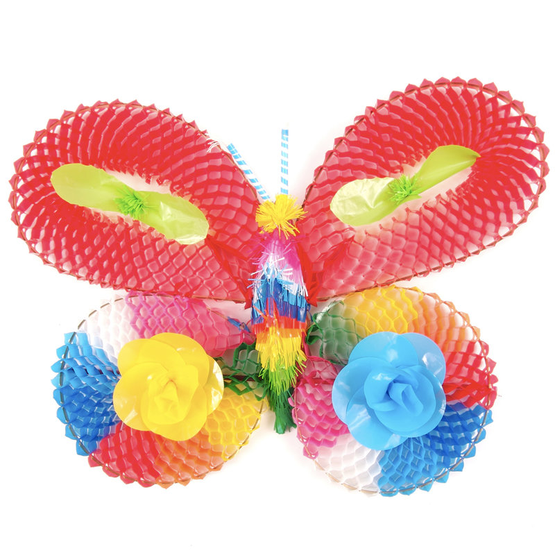 Decorative butterfly of plastic, large
