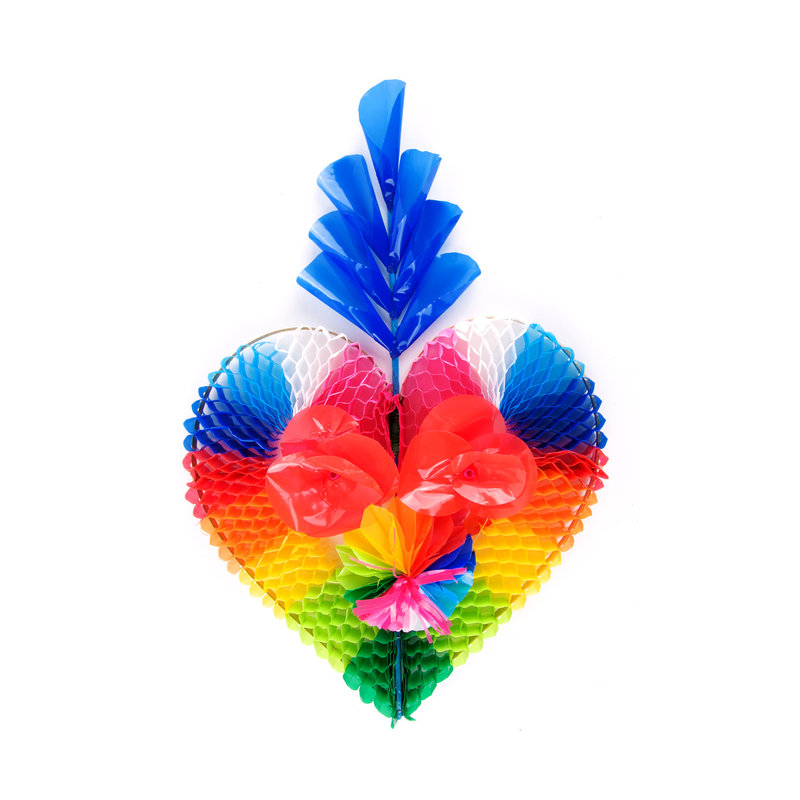 Decorative heart of plastic, small