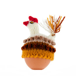 Egg-cosy chicken
