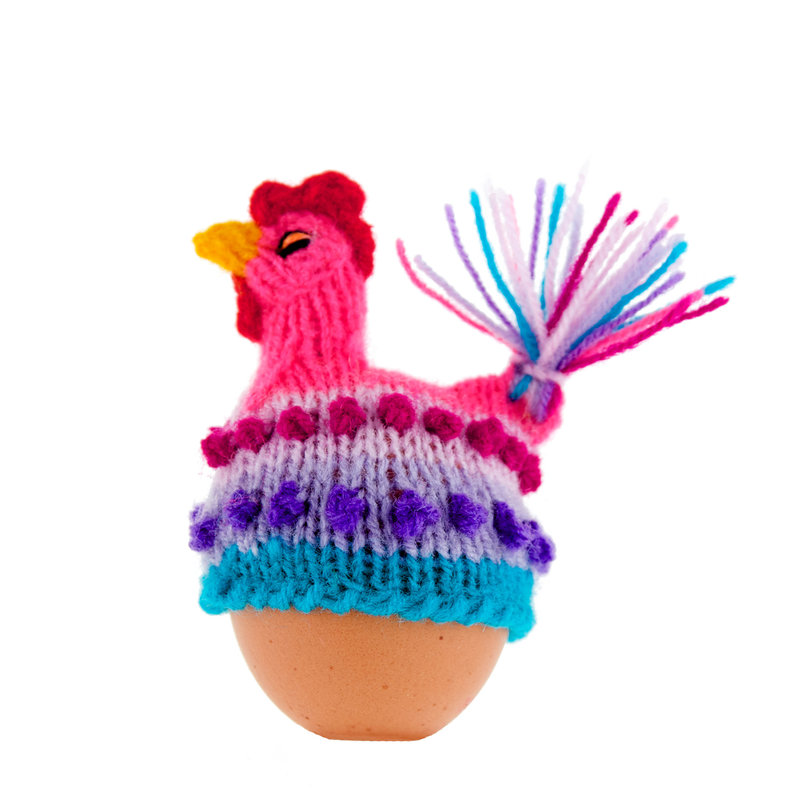 Egg-cosy rooster
