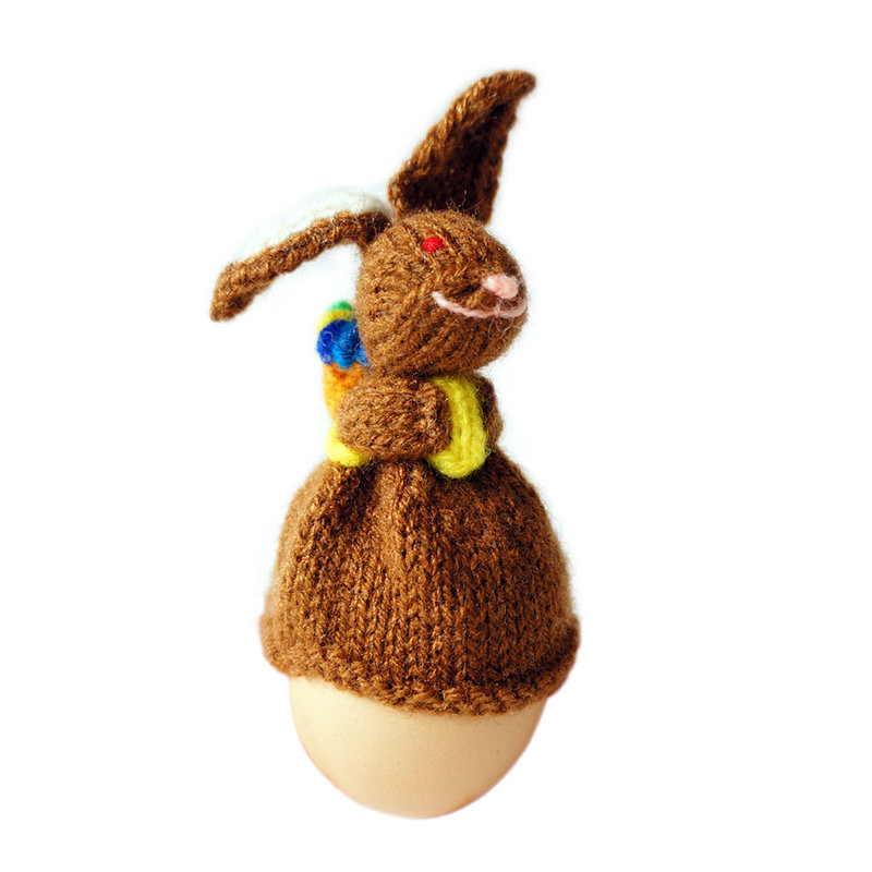 Egg-cosy Easter bunny