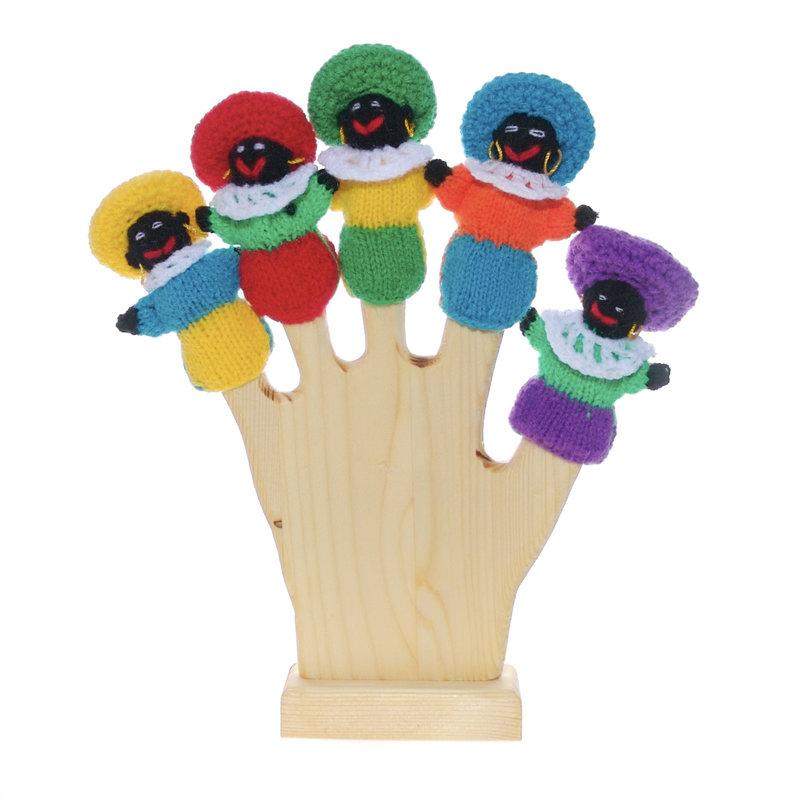 Vingerpop Zwarte Piet